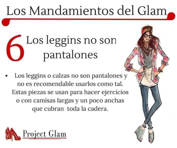 Los Mandamientos del Glam ღღ~❥✿ Mara Maldonado ✿ڿڰۣ(̆̃̃❤