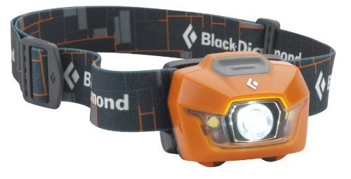 Why headlamps are better than flashlights, Black Diamond Equipment Storm Headlamp (Mango) take it adventure camping, caving, or doing outdoor household chores at night. Heck, they work great when working on your car.
