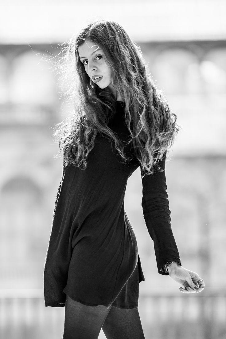 Ana Alfau model, shooting en Madrid por Eduardo Serrano
