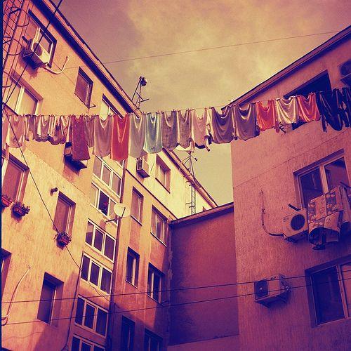 Cloths Line, Constanta, Romania
