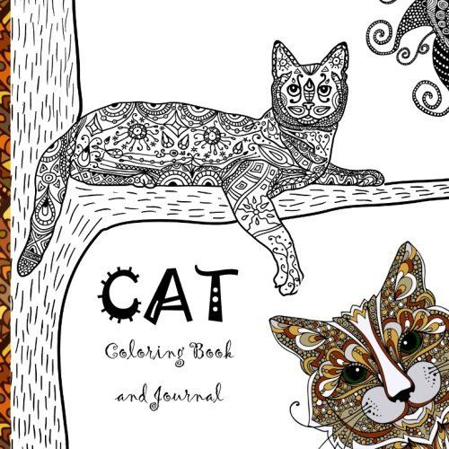 Cat Coloring Book A Calming And Creative Collection Of Cats Kittens