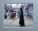 #2: Disney Donnie Yen as Chirrut Imwe Autographed Matted Photo in 2016 Rogue One: A Star Wars Story