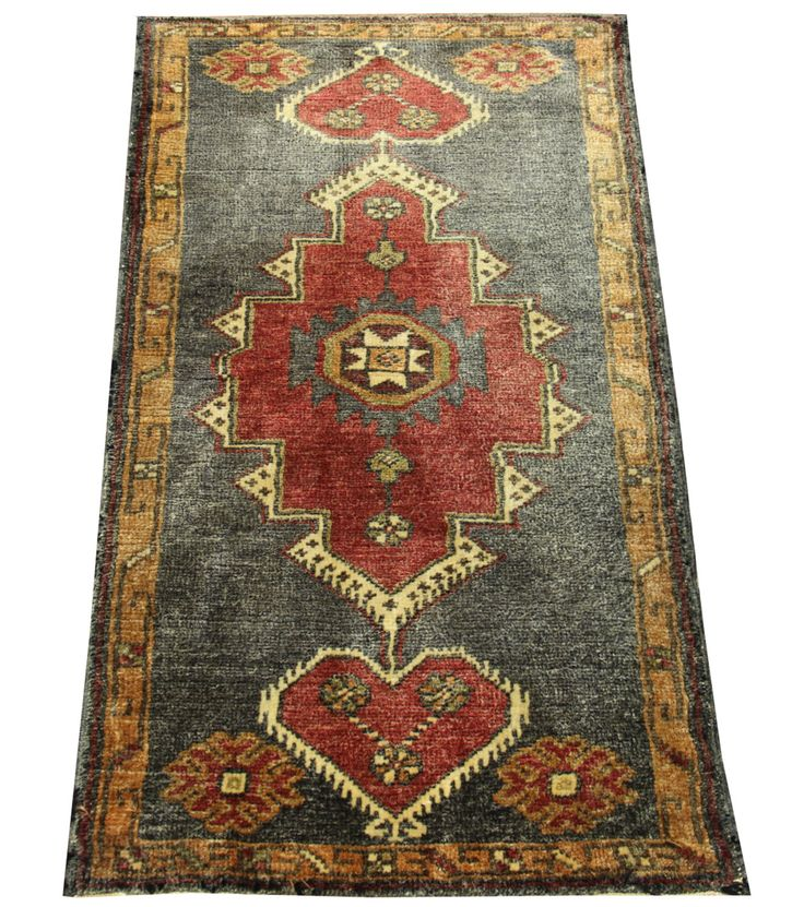 Anatolian Vintage Doormat Small rug 3,0x1,7 feet Area rug Bath mat Rug Bedroom Rug Turkish rug home decor Decorative Rug Rustic Rugs DB-10 by Damgadecor on Etsy