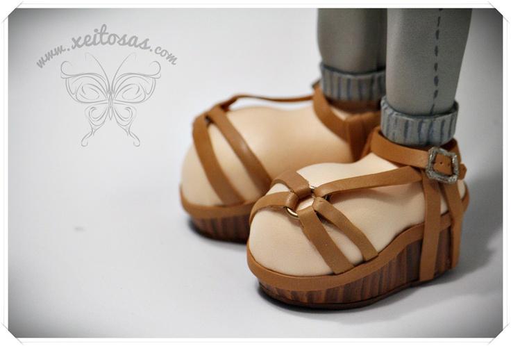 Sandalias para fofucha | zapatos fofucha | Pinterest