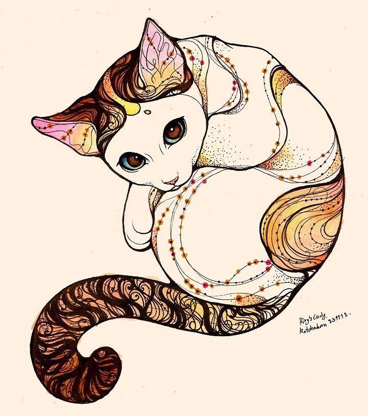 looking cat by rivyinrivendell @valeriemousseau