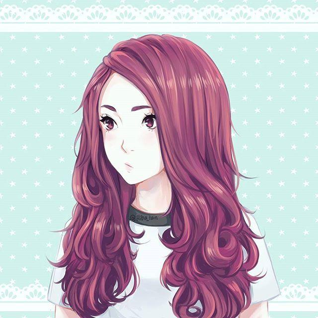 anime curly hair ideas
