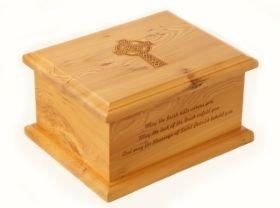Wooden Cremation Urns Handmade in Tipperary Ireland - Irish Heritage Urns