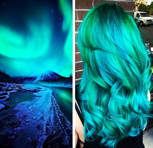El 'pelo color galaxia' ya es tendencia y es algo tan increíble como esto