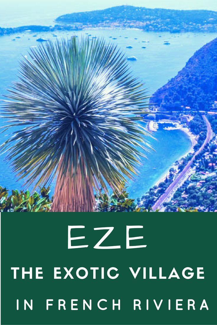 Famous for its perfumes and stunning views over the Mediterranean sea, Eze is a treat to all your senses. It is perfect for a day trip from Nice or Monaco. #Eze #FrenchRiviera #France #Daytrip