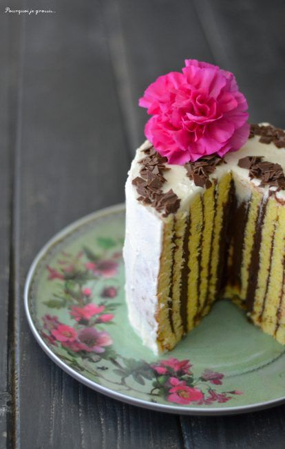Gâteau roulé (à la verticale), façon tiramisu !