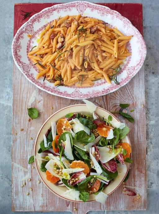 Chorizo Carbonara | Pasta Recipes | Jamie Oliver Recipes add some slow cooked onions/pepper/courgette and can add half cream