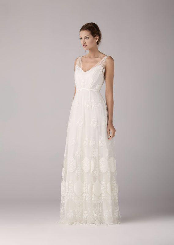 7 best kleider images on Pinterest | Vintage wedding dresses, Bridal ...