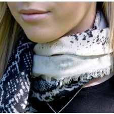 Style Snob Animal print scarf