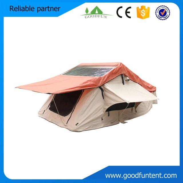 Alta calidad remolque superior camping car maggiolina tienda de techo para 3-4 personas