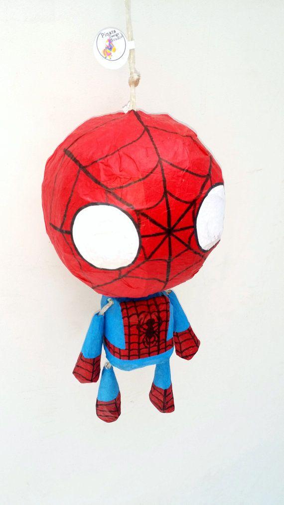 Piñata mini marionetas inspirado en Spiderman  Miembros