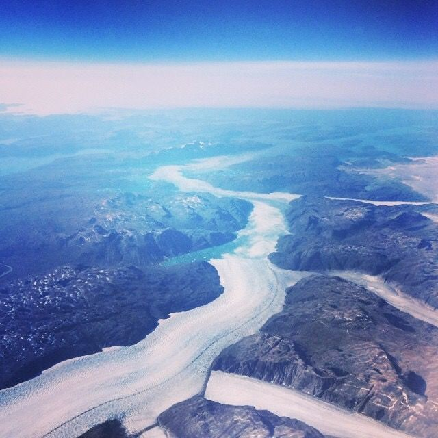 #fromabove #greenland