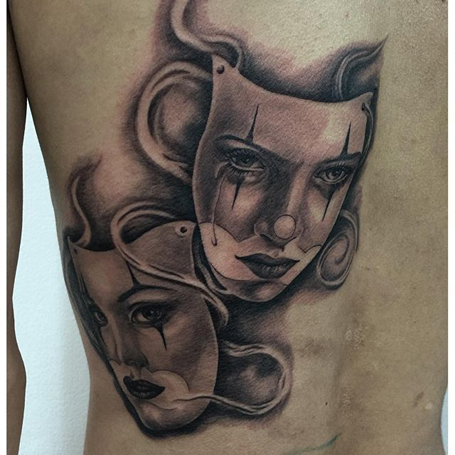 41 best face mask tattoo designs images on pinterest for Face mask tattoo
