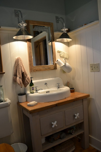 Bathroom Reno Done By Re Using Reclaiming And Buying On The Cheap For The Home Pinterest