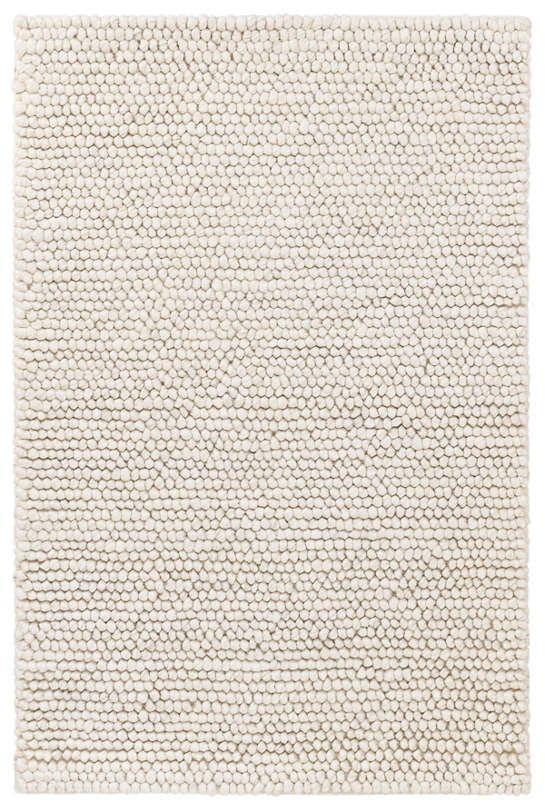 Niels Ivory Woven Wool Viscose Rug Dash Amp Albert Rugs