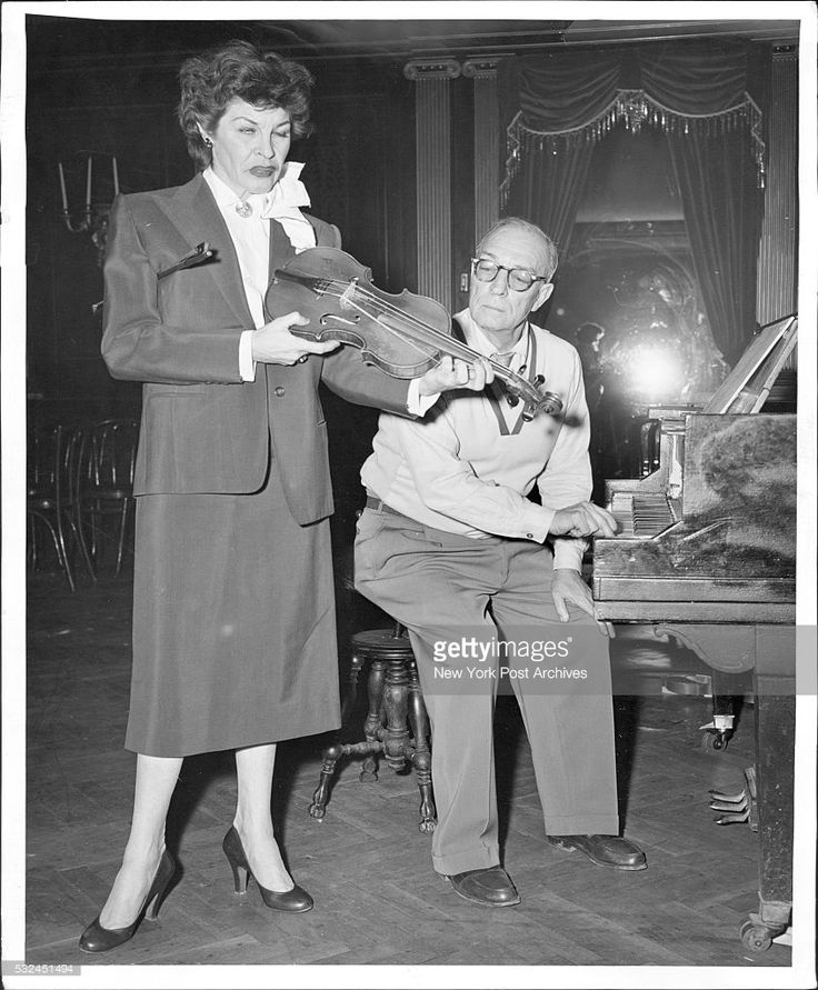 Martha Raye & Buster Keaton. March 06, 1956. (Photo by Louis Liotta/New York Post Archives / (c) NYP Holdings, Inc. via Getty Images)