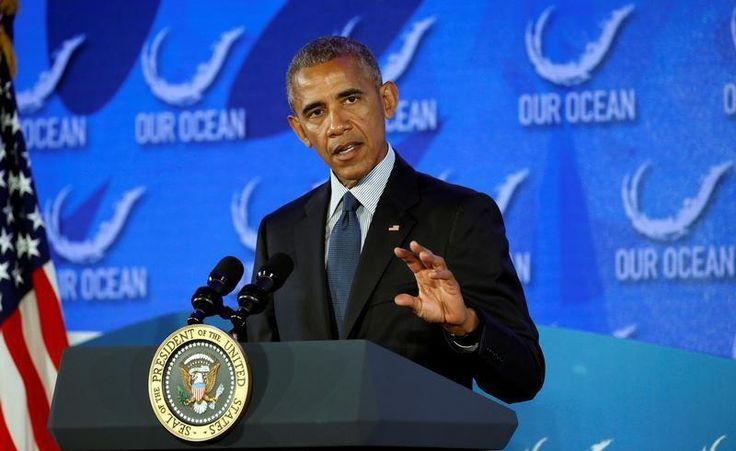 23 November 16 US grants second Airbus license to sell planes to Iran U.S. President Barack Obama speaks at the Our Ocean Conference at the State Department in Washington, D.C., U.S., September 15, 2016. REUTERS/Kevin Lamarque