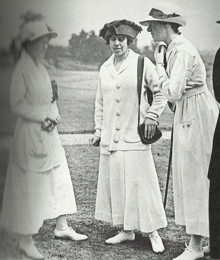 robe années 20 Tenue de Golf début des années 20