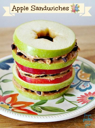 17 Best ideas about Apple Sandwich on Pinterest | Healthy ...
