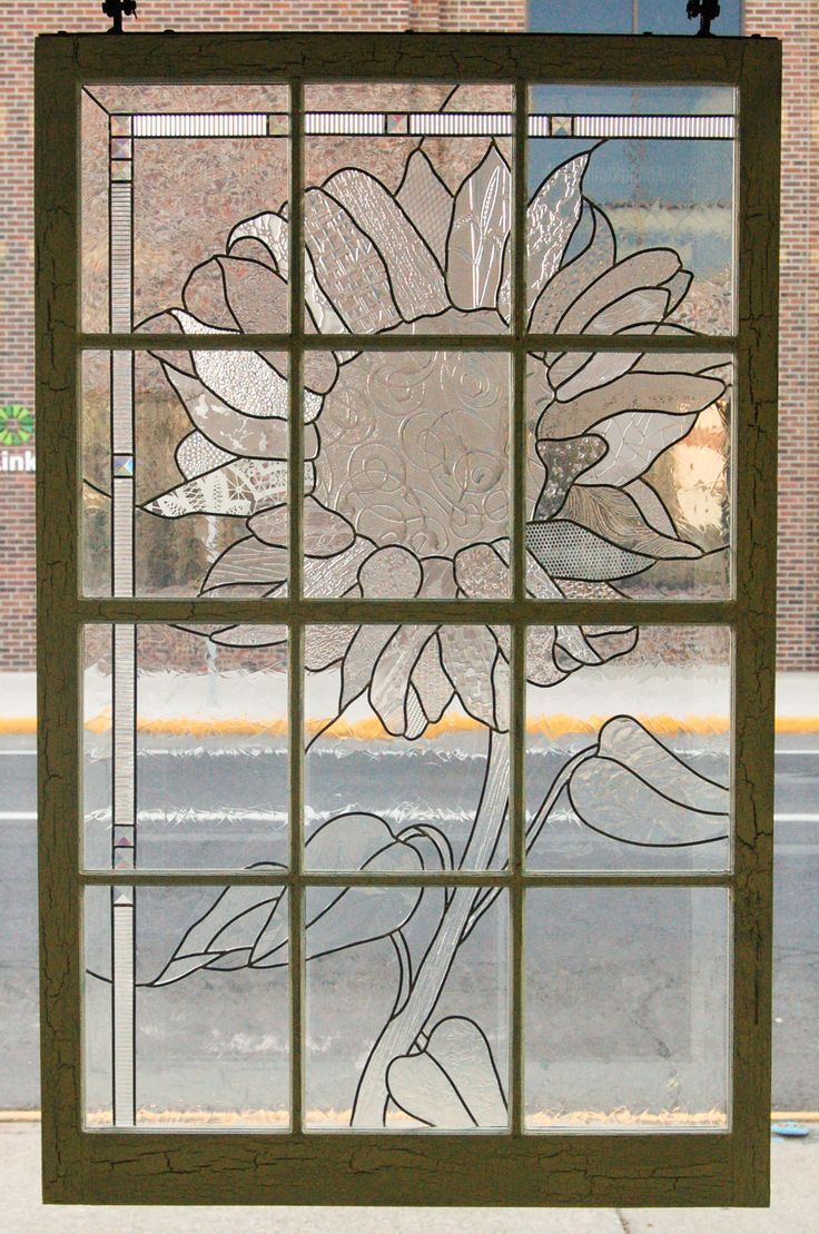 1000 Images About Stained Glass In Old Window Frames On