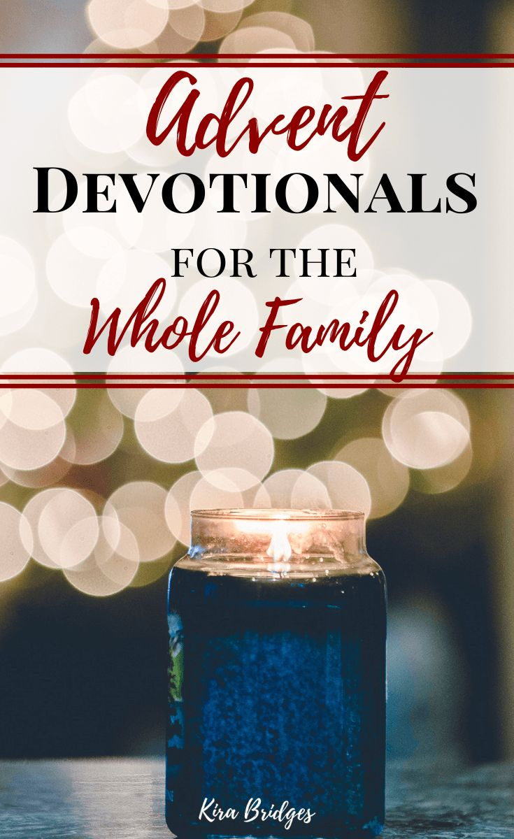 Advent devotional books for the whole family kira