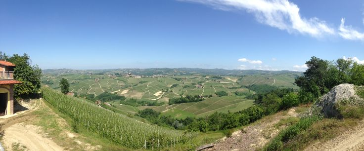 Panoramic View from Corte Pavone, Montalcino