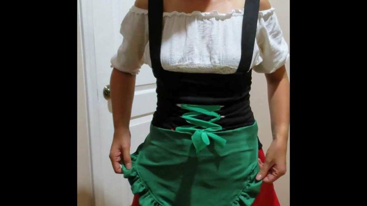 Easy DIY: German Beer Girl Outfit  for (Oktoberfest/ Halloween) #5