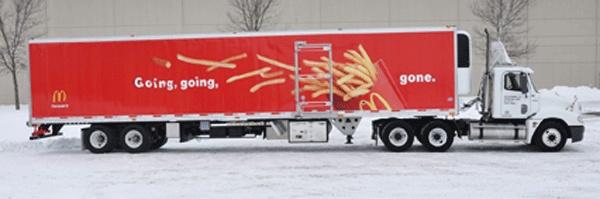 McDonald's fleet graphics