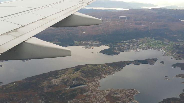 Jæren seen by air