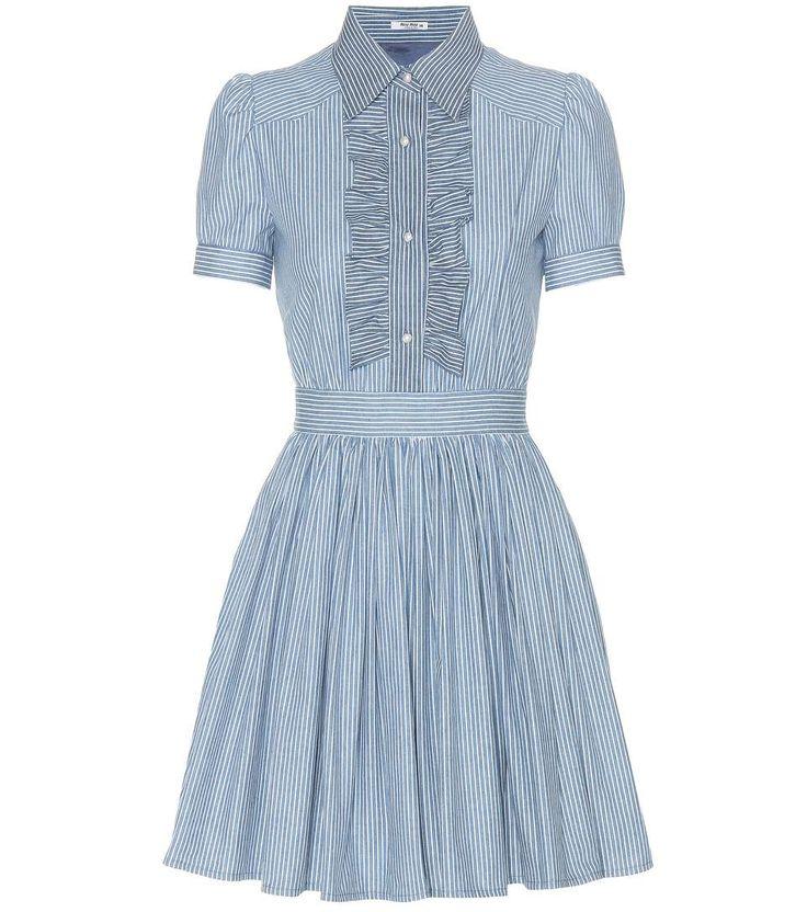 MIU MIU Kleid Aus Baumwolle. #miumiu #cloth #kleider