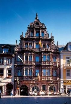 Hotel Zum Ritter St  Georg, Heidelberg, Germany-my favorite restaurant in Heidelberg.