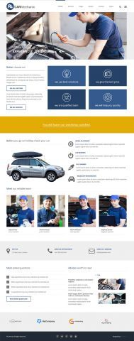 PE Services - car mechanic version #WordPress #Theme