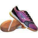 Zapatillas de Futbol Sala PENALTY Max Huracan Pro 12 Morado-Negro. Diseñadas para los jugadores que buscan unas zapatillas cómodas y ligeras. Consiguelas aqui: http://www.deportesmena.com/zapatillas-penalty/2606-zapatillas-de-futbol-sala-penalty-max-huracan-pro-12-morado-negro.html