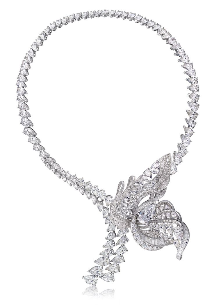 De Beers The Imaginary Nature necklace with brooch