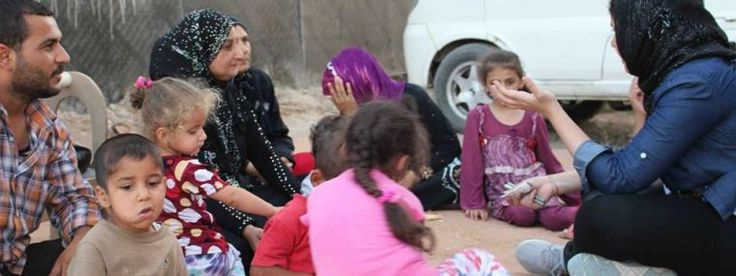 Dr. Sarah Ahmed is an Iraqi dentist helping hundreds of displaced Christians in Iraq!
