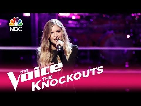 "The Voice 2017 Knockout - Lauren Duski: ""When You Say Nothing at All"" - YouTube"