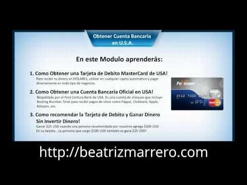 Por qué tener una cuenta bancaria y tarjeta prepago en EEUU.http://beatrizmarrero.com/cuenta-bancaria-y-tarjeta-prepago-en-eeuu/