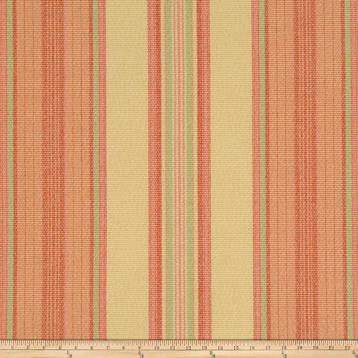 Ritz Paris Vendome Stripe Citrus from @fabricdotcom  This lovely woven fabric is perfect for draperies, valences, and upholstery projects.  Fabric features 15,000 double rubs.
