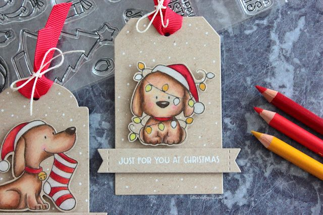 Little Crafty Pill: Last Minute Christmas Tags