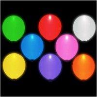 ballon lumineux led blanc - Ballon Phosphorescent Mariage