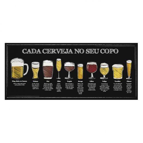 Quadro Cerveja Copos