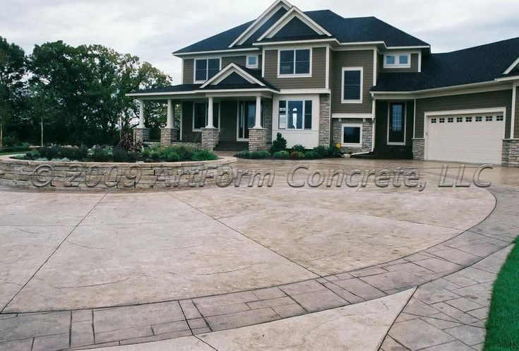 25 best images about driveway on pinterest concrete for Driveway addition ideas