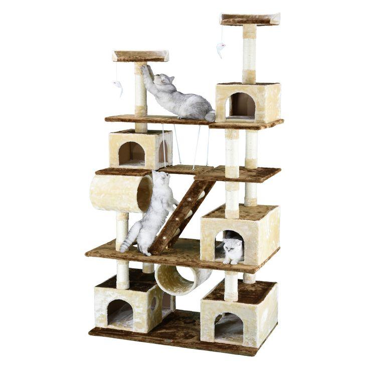 20++ Go pet club huge cat condo house information