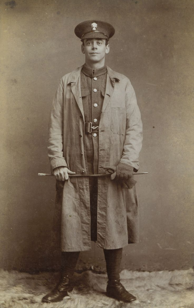 World War I Trench Coat. It was WWI where the popular coat first appeared.