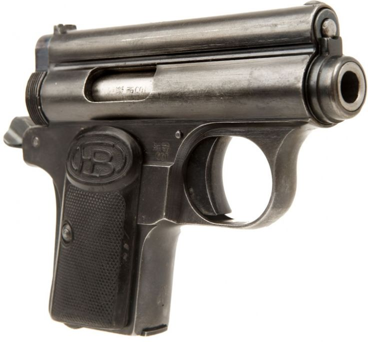 The Baby Frommer A pocket pistol version of the Hungarian Frommer Stop in .32ACP.  Made in between World War I and World War II.