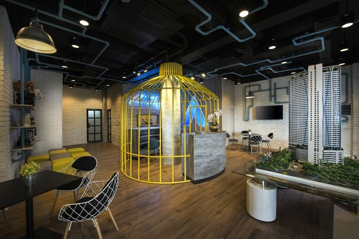 332 best images about office work place on pinterest for Marketing office design